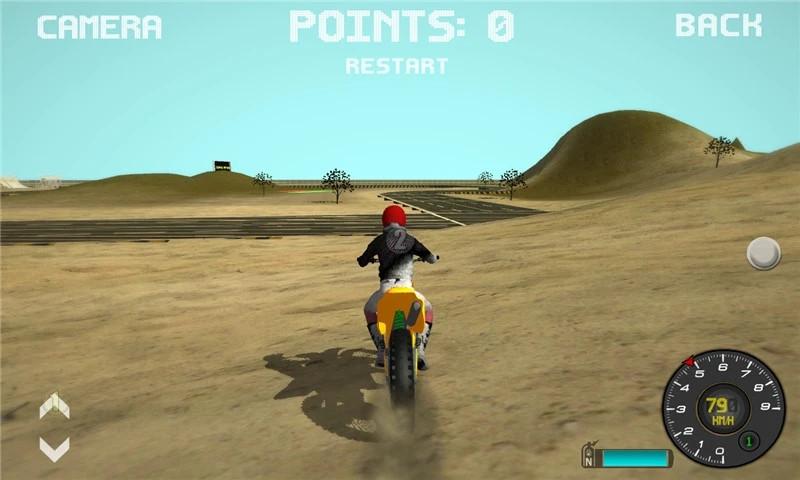 摩托车越野赛车3D破解版破解版